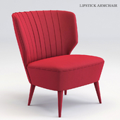 Lipstick armchair