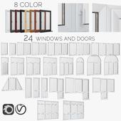 Windows, PVC doors