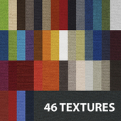 Texture of fabric (46 pcs)