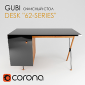 Office table-Gubi Desk 62-series