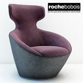 Roche bobois Edito lounge pivoting armchar