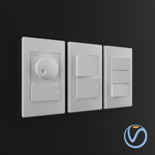 Wall Switches White