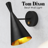 Beat Wall Light Black Tom Dixon