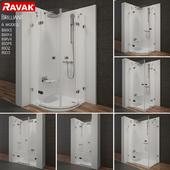 Range of showers Ravak Brilliant