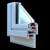 Corner Window PVC