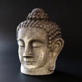 The head of the Buddha