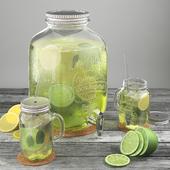 Lemonade lime-lemon