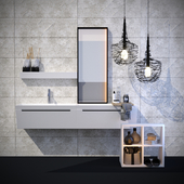 Bathroom furniture Bevel, GAMADECOR