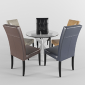 02.Chair Leather BLCMR is