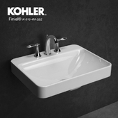 sink - faucet with lever handles