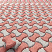 Paving color / Colored paving stones