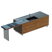 кухонный стол STEEL+