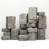 Rock stone collection decorative / A collection of rock for decoration