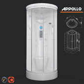 Shower cabin with hydromassage Appollo TS-85W