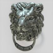 дверная стуколка в виде льва