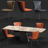 DRAENERT DEXTER Chair and ADLER Table