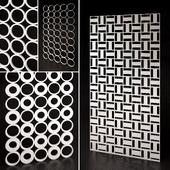 Decorative partition 4