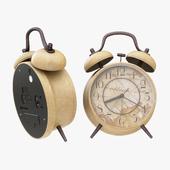 ANG 4 Silent Twin Bell Alarm Clock