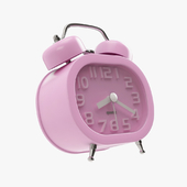 Goldfox Fashion Oval Cute Twin Double Bell Desk Alarm Clock