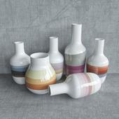 Vases Scholten & Baijings design. Dezeen. Designer vases