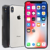 Apple iPhone X (vray GGX)