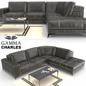 Gamma Charles Sofa