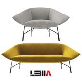 Диван и кресло Lennox Lema