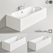 Radaway baths Set 2 + Steinberg bath / shower mixer