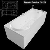 Acrylic bath Aquanet Corsica 170x75