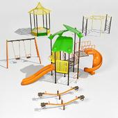Equipment for children's playground Vega