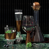 Glass set Tom Dixon
