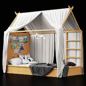 Ikea Kura Bed for kids