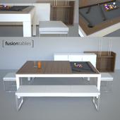 Billiard table Fusion Tables.