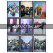 Paintings abstract   set 39
