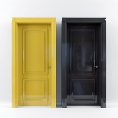 Yellow Black Door