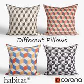 Decorative pillows Habitat.set 021