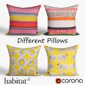 Decorative pillows Habitat.set 023