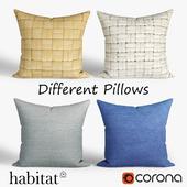 Decorative pillows Habitat.set 024
