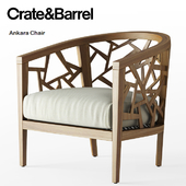 Crate and Barrel / Ankara Chair