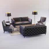 Winston sofa & armchair set