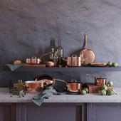 Posuda Mauviel Copper Set