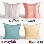 Decorative pillows Wayfair. set 025
