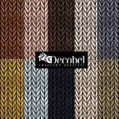 "Seamless texture ""Pigtail"" (10 pcs.) Decobel"