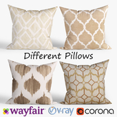 Decorative pillows Wayfair. set 028