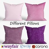 Decorative pillows Wayfair. set 029