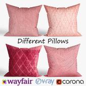 Decorative pillows Wayfair. set 030