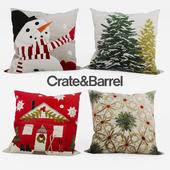 CrateandBarrel - New Year set Pillow