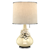 Table Lamps Stone Flower
