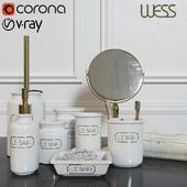 WESS Le Bain blanc set