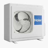 Air Conditioning - Haier Cassette outside